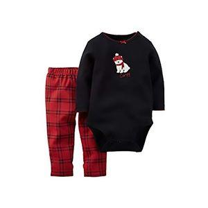 Carters Baby Girl Polar Bear Bodysuit Pant Set 24M